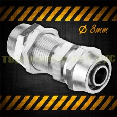 Фитинг для соединения трубки 8 мм, прямой, пневматический