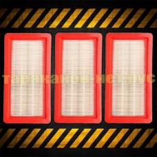 Моющийся HEPA фильтр (3 шт) для пылесоса Кёрхер (Karcher) DS 5.800